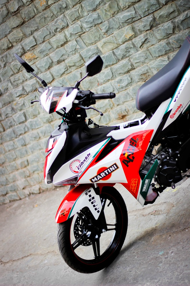 Exciter 150 Do phong cach Ducati ca tinh - 5