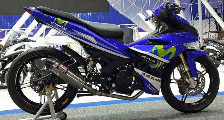 Exciter 150 Do theo doi dua Yamaha Movistar 2015 - 2