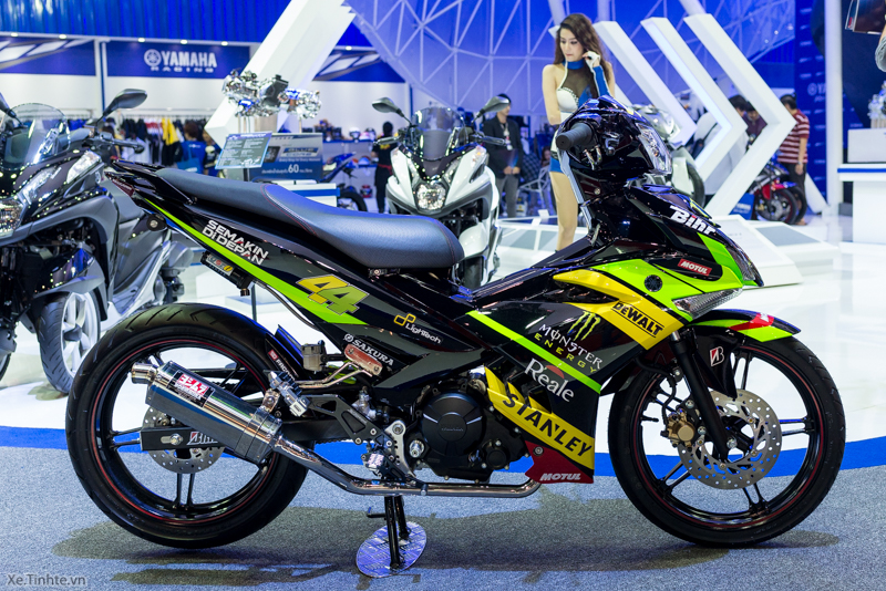 Exciter 150 Monster Do tai Bangkok Motor Show 2015 - 2