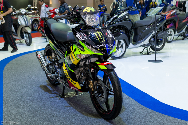 Exciter 150 Monster Do tai Bangkok Motor Show 2015 - 5