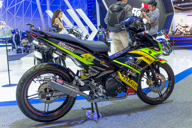 Exciter 150 Monster Do tai Bangkok Motor Show 2015 - 7