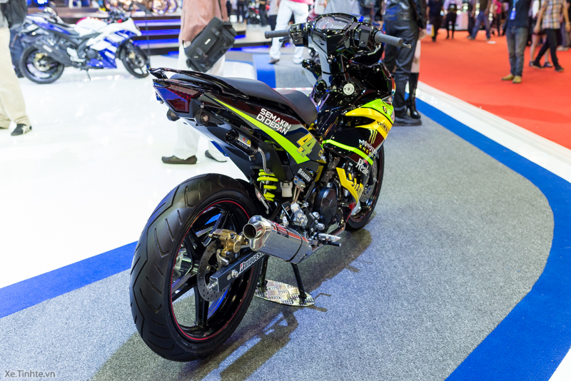 Exciter 150 Monster Do tai Bangkok Motor Show 2015 - 8