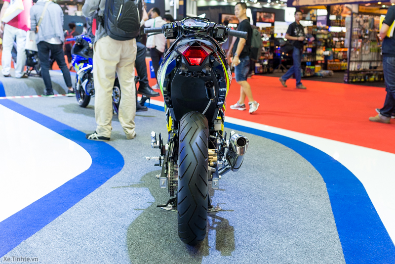 Exciter 150 Monster Do tai Bangkok Motor Show 2015 - 10