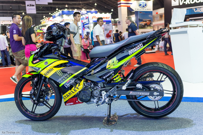 Exciter 150 Monster Do tai Bangkok Motor Show 2015 - 16