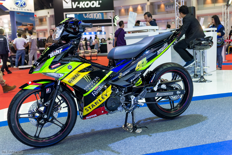 Exciter 150 Monster Do tai Bangkok Motor Show 2015 - 17