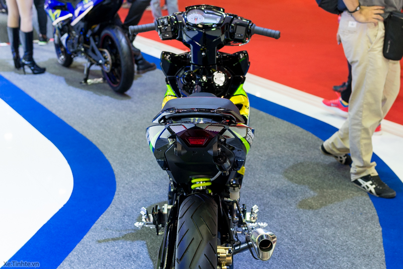 Exciter 150 Monster Do tai Bangkok Motor Show 2015 - 21