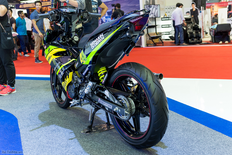 Exciter 150 Monster Do tai Bangkok Motor Show 2015 - 23