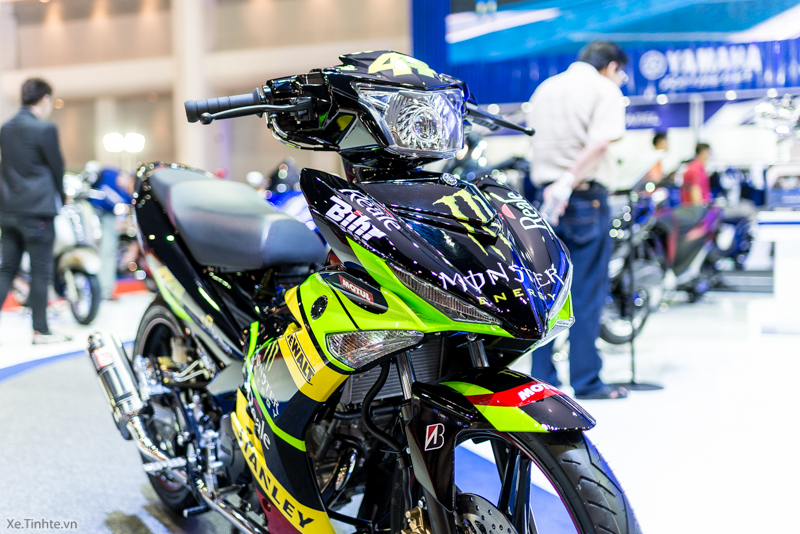 Exciter 150 Monster Do tai Bangkok Motor Show 2015 - 29