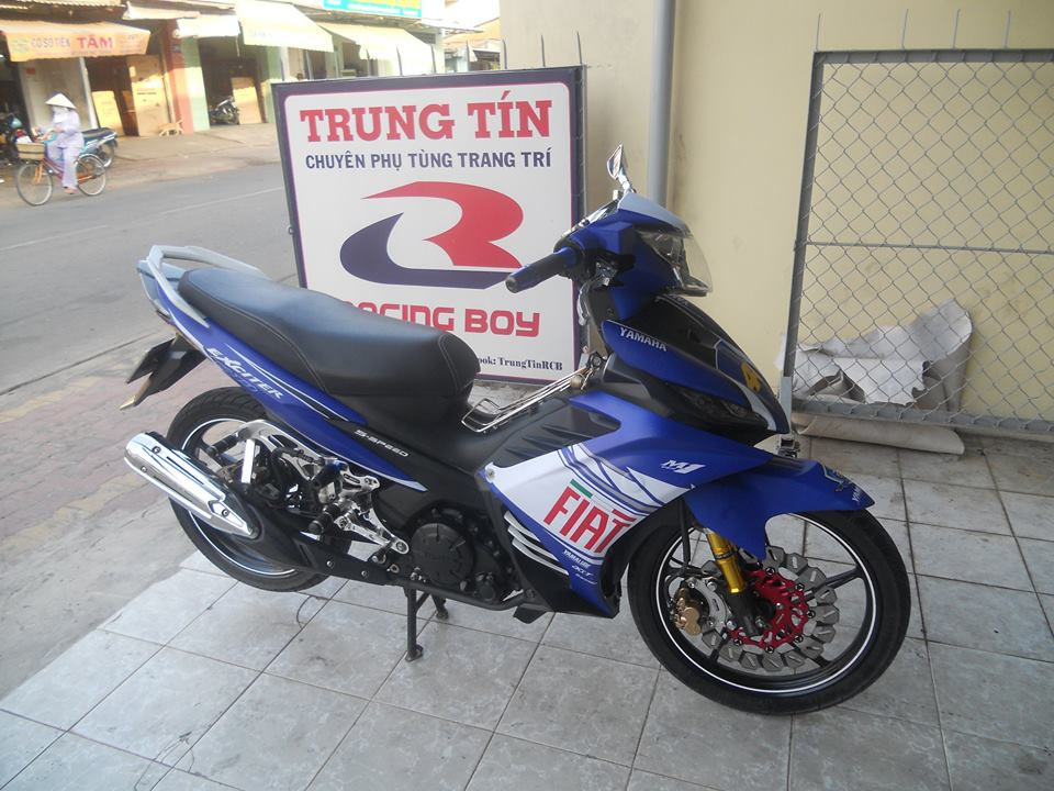 Exciter do voi y tuong tu Yamaha M1 2015