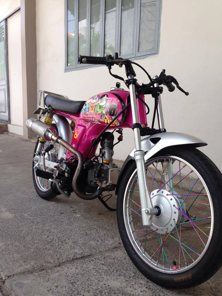 Honda 67 do sieu cute voi phien ban Cartoon Network