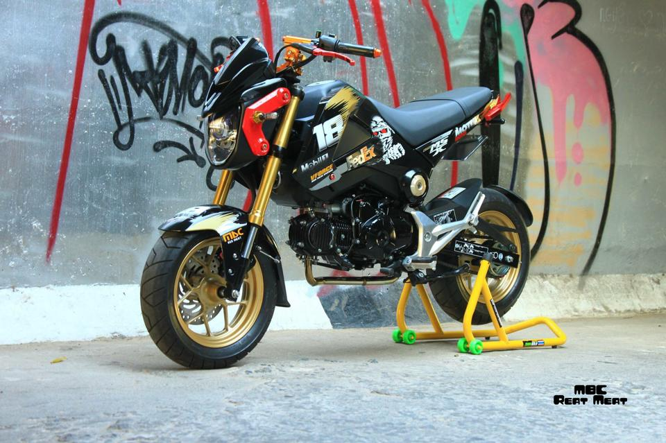 Honda MSX do kieng dep mat voi dan do choi chat - 2