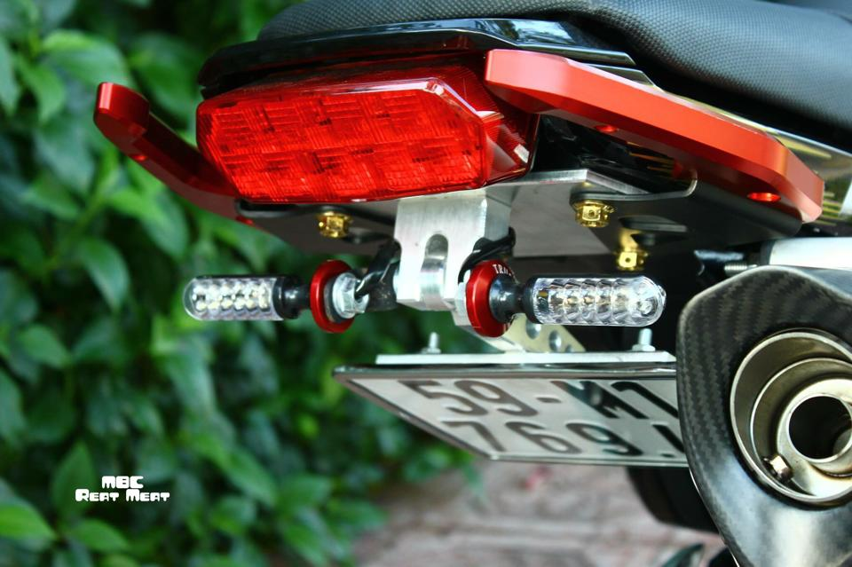 Honda MSX do kieng dep mat voi dan do choi chat - 5