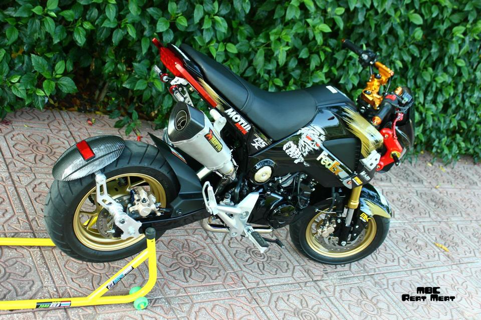 Honda MSX do kieng dep mat voi dan do choi chat - 8