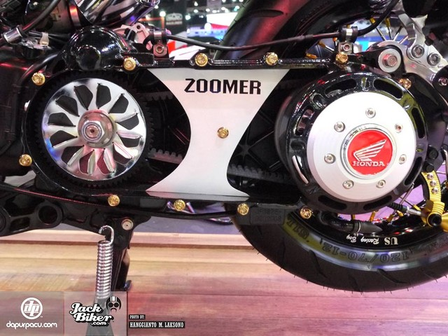 Honda Zoomer X do doc la voi phong cach Cafe Racer - 9