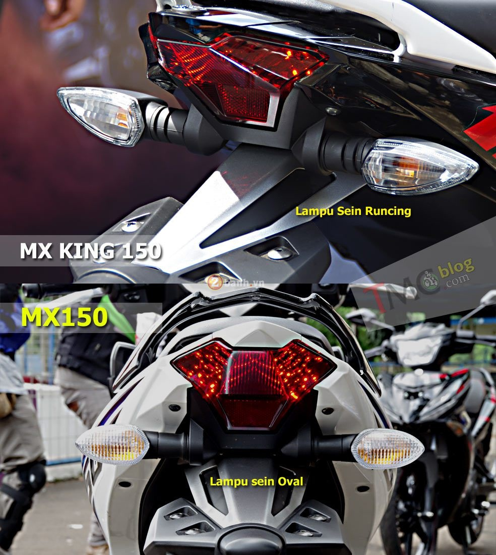 Jupiter Mx King 150 so dang cung Jupiter Mx 150 - 5