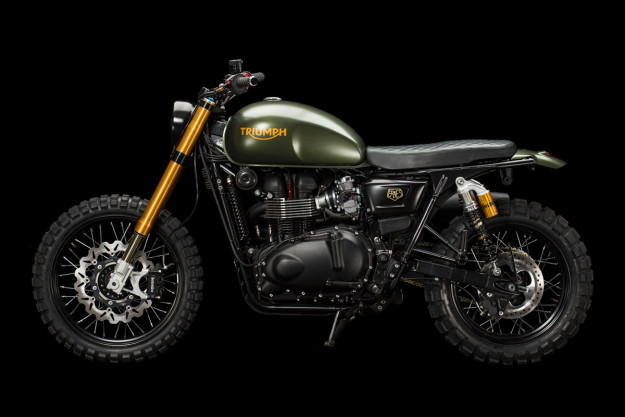 Triumph Scrambler The Hunter cuc ngau cung nhieu do choi khung