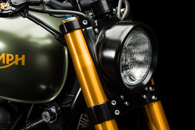 Triumph Scrambler The Hunter cuc ngau cung nhieu do choi khung - 5