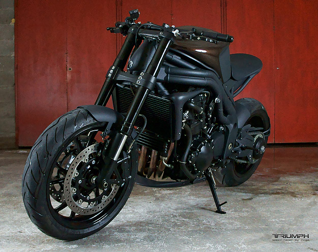 Tuyet pham Impoz Speed Racer den tu Triumph Speed Triple 1050 - 3