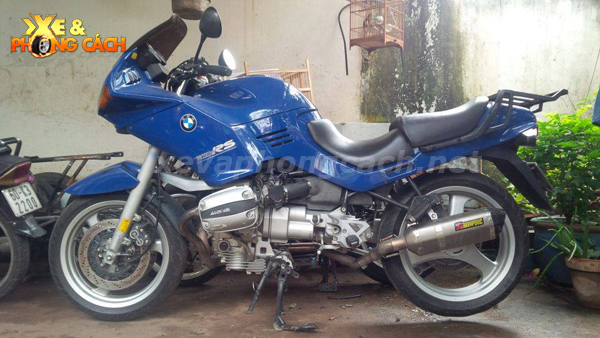 BMW R1100Rs do phong cach Cafe Racer thap nien 70 tai VN - 3