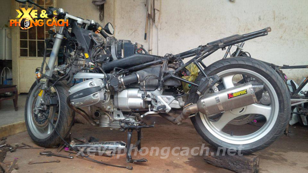 BMW R1100Rs do phong cach Cafe Racer thap nien 70 tai VN - 4