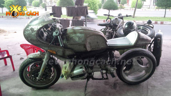 BMW R1100Rs do phong cach Cafe Racer thap nien 70 tai VN - 7