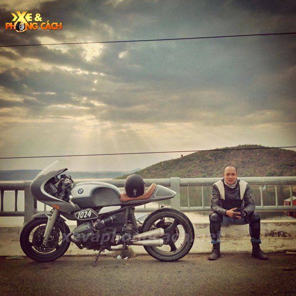 BMW R1100Rs do phong cach Cafe Racer thap nien 70 tai VN - 8