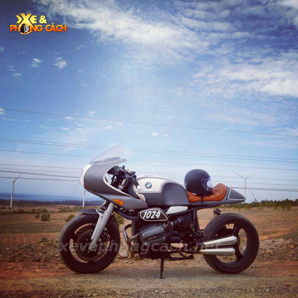 BMW R1100Rs do phong cach Cafe Racer thap nien 70 tai VN - 9