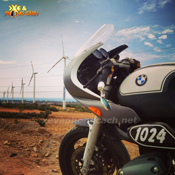 BMW R1100Rs do phong cach Cafe Racer thap nien 70 tai VN - 10
