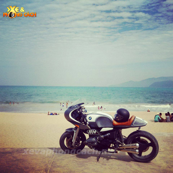 BMW R1100Rs do phong cach Cafe Racer thap nien 70 tai VN - 11