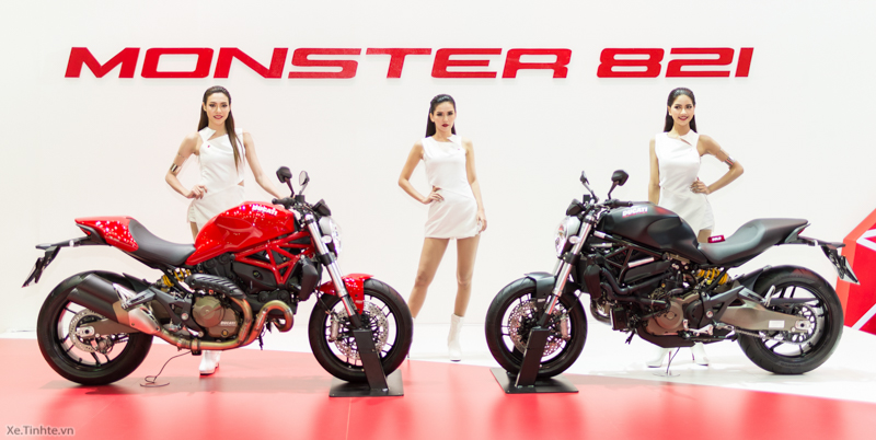 Can canh chiec Ducati Monster 821 Ban rut gon cua Monster 1200