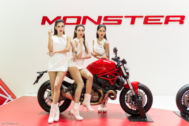 Can canh chiec Ducati Monster 821 Ban rut gon cua Monster 1200 - 2