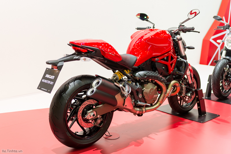 Can canh chiec Ducati Monster 821 Ban rut gon cua Monster 1200 - 4