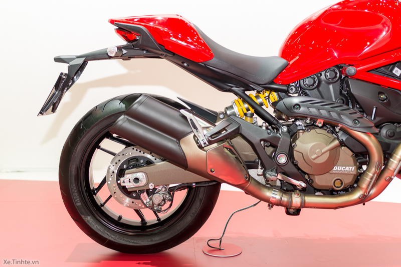 Can canh chiec Ducati Monster 821 Ban rut gon cua Monster 1200 - 5