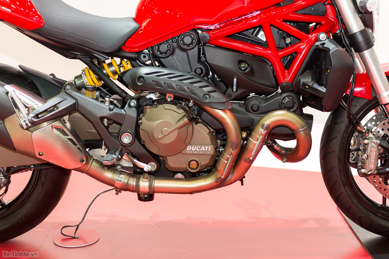 Can canh chiec Ducati Monster 821 Ban rut gon cua Monster 1200 - 6