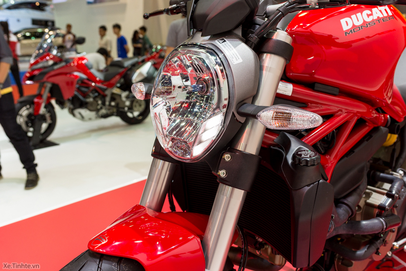 Can canh chiec Ducati Monster 821 Ban rut gon cua Monster 1200 - 18