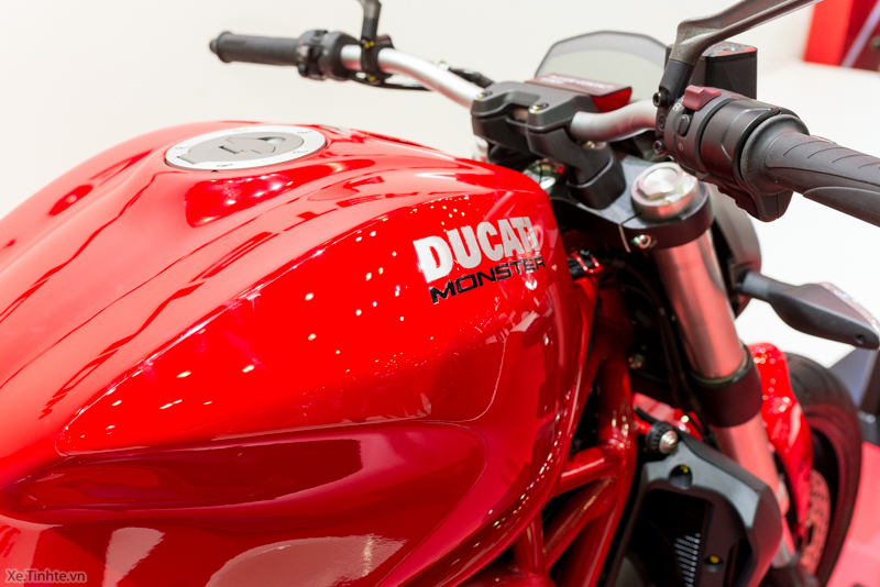 Can canh chiec Ducati Monster 821 Ban rut gon cua Monster 1200 - 29