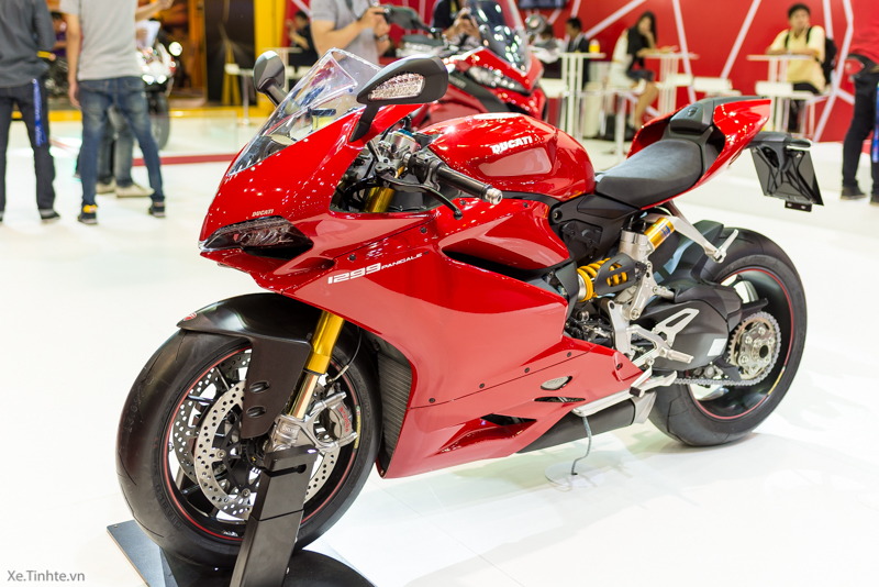 Can canh Ducati 1299 Panigale S tai Bangkok Motor Show 2015 - 3