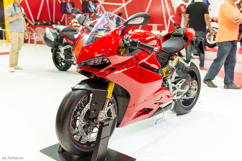 Can canh Ducati 1299 Panigale S tai Bangkok Motor Show 2015 - 4