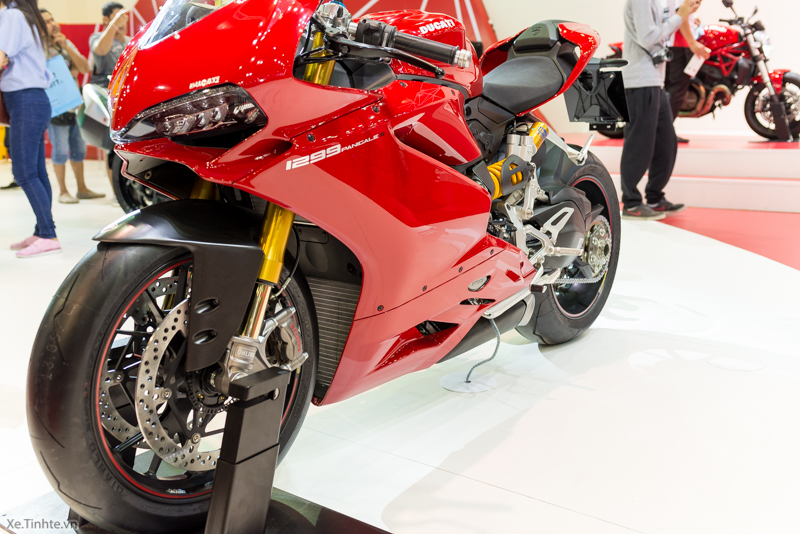 Can canh Ducati 1299 Panigale S tai Bangkok Motor Show 2015 - 25