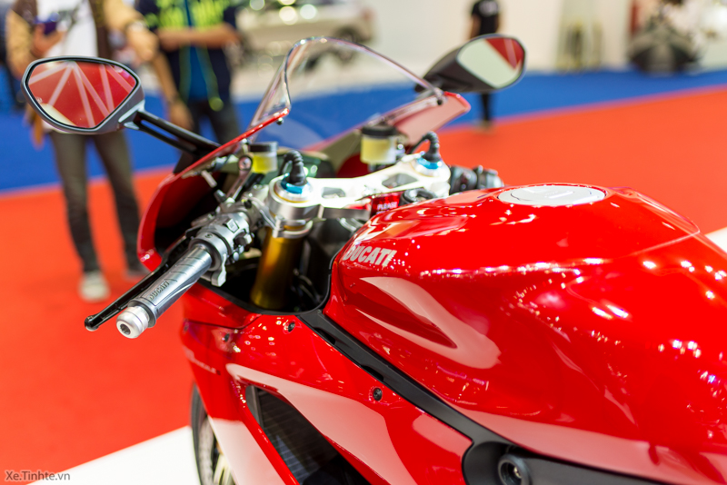 Can canh Ducati 1299 Panigale S tai Bangkok Motor Show 2015 - 35