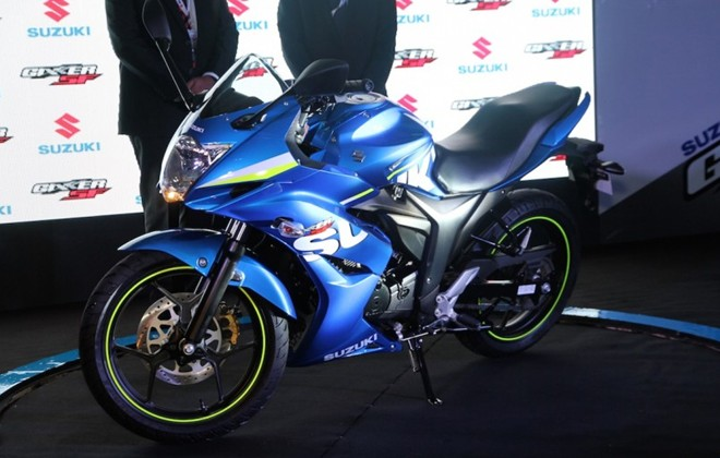 Can canh Suzuki Gixxer SF150 moi ra mat tai An Do