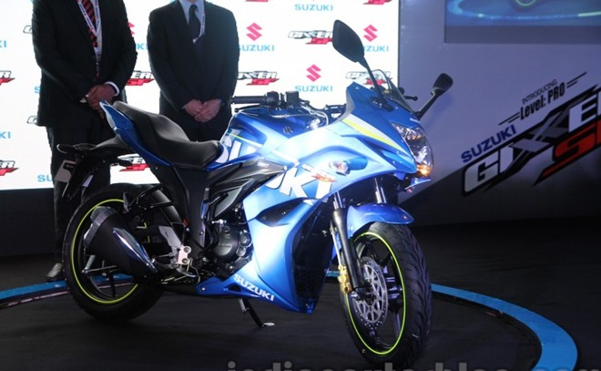 Can canh Suzuki Gixxer SF150 moi ra mat tai An Do - 2