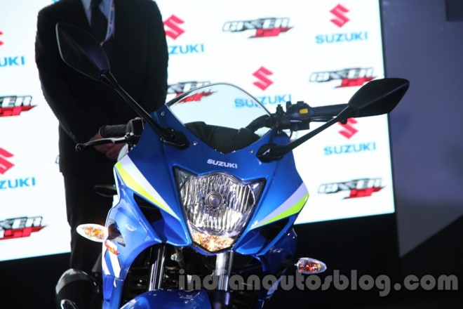Can canh Suzuki Gixxer SF150 moi ra mat tai An Do - 3