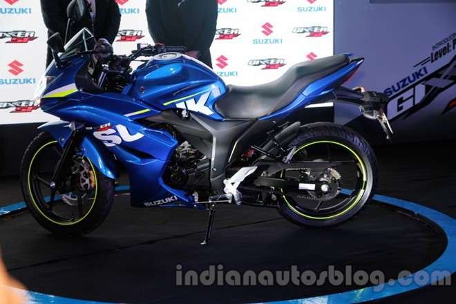 Can canh Suzuki Gixxer SF150 moi ra mat tai An Do - 12