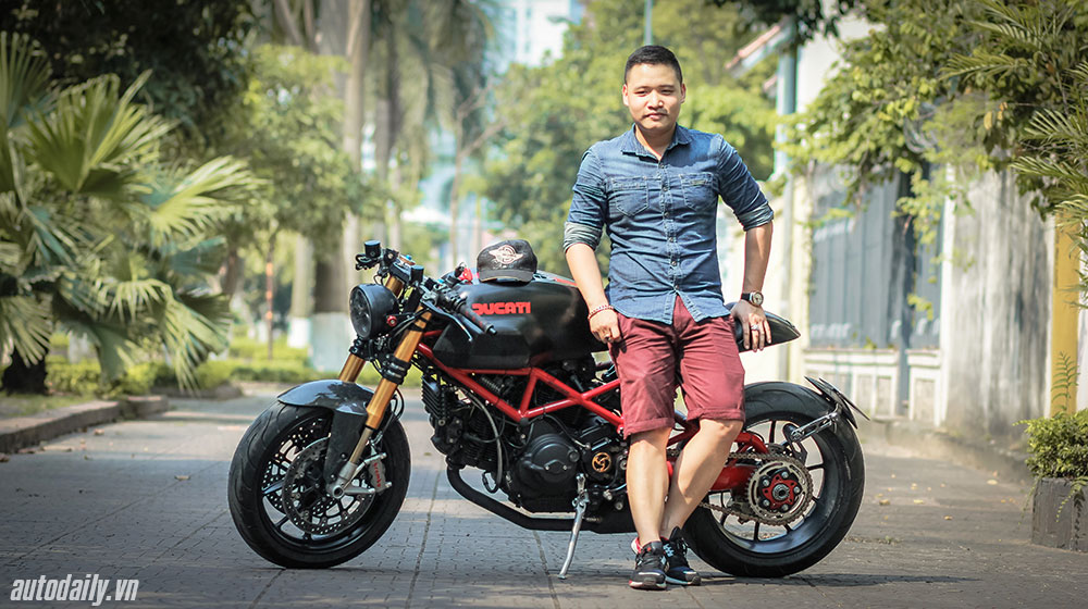 Ducati Monster 1000 sie do Cafe Racer doc nhat vo nhi tai Viet Nam