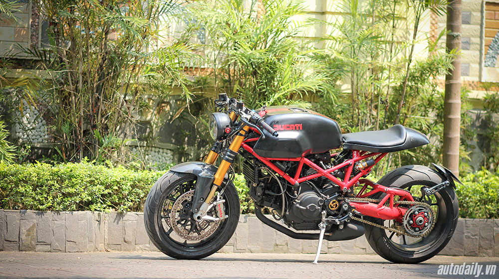 Ducati Monster 1000 sie do Cafe Racer doc nhat vo nhi tai Viet Nam - 2