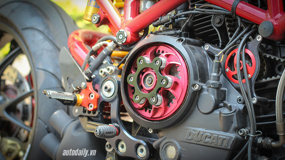 Ducati Monster 1000 sie do Cafe Racer doc nhat vo nhi tai Viet Nam - 8