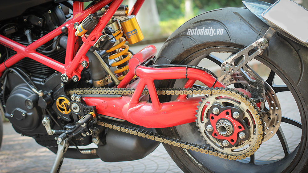 Ducati Monster 1000 sie do Cafe Racer doc nhat vo nhi tai Viet Nam - 10