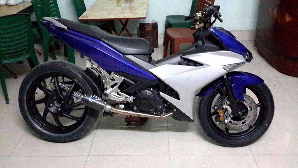 Exciter 135 Do phong cach Yamaha R25