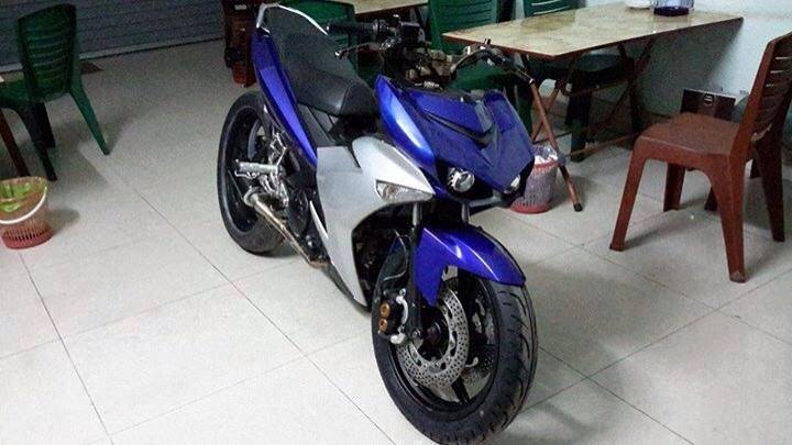 Exciter 135 Do phong cach Yamaha R25 - 2